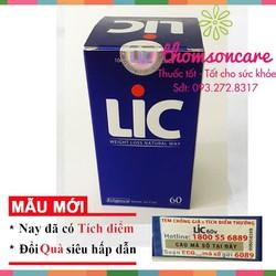 Lic hỗ trợ giảm cân hiệu quả   Sản phẩm chính hãng   Giảm cân giữ dáng