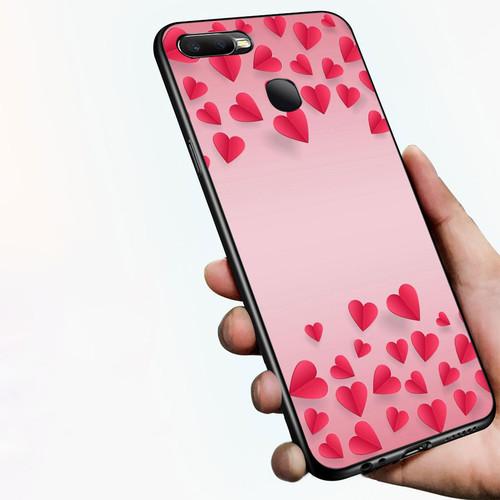 Ốp điện thoại dành cho máy oppo f9 - trái tim màu nắng ms abeda004