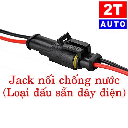 [Loại đấu sẵn dây] đầu cút jack giắc nối dây điện 2 chân chống nước dùng cho xe máy xe hơi ô tô - 20898290 , 23970640 , 15_23970640 , 25000 , Loai-dau-san-day-dau-cut-jack-giac-noi-day-dien-2-chan-chong-nuoc-dung-cho-xe-may-xe-hoi-o-to-15_23970640 , sendo.vn , [Loại đấu sẵn dây] đầu cút jack giắc nối dây điện 2 chân chống nước dùng cho xe máy xe