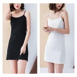 Váy lót váy thun váy hai dây mặc trong váy