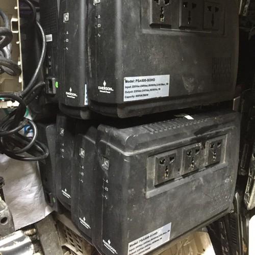 Bộ lưu điện ups có cổng usb sạc điện thoại emerson psa 600 soho