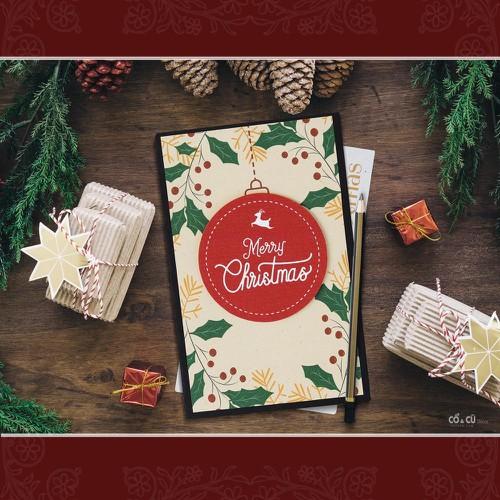 Thiệp handmade chúc mừng giáng sinh ý nghĩa