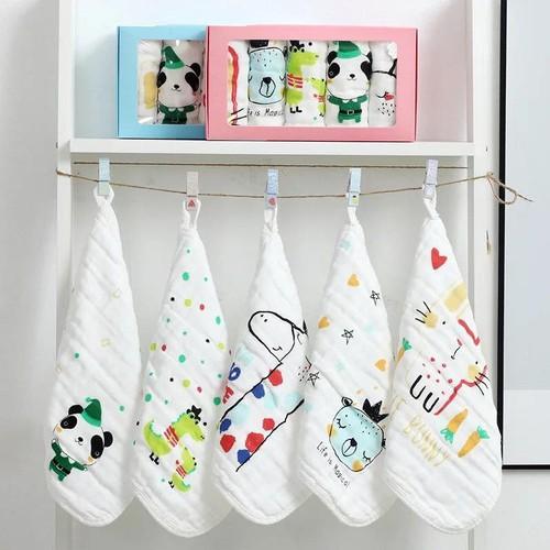 Hộp 5 khăn mặt xô sợi tre 6 lớp xuất nhật siêu mềm mại cho bé sơ sinh 30x30cm - 20944257 , 24029276 , 15_24029276 , 75000 , Hop-5-khan-mat-xo-soi-tre-6-lop-xuat-nhat-sieu-mem-mai-cho-be-so-sinh-30x30cm-15_24029276 , sendo.vn , Hộp 5 khăn mặt xô sợi tre 6 lớp xuất nhật siêu mềm mại cho bé sơ sinh 30x30cm