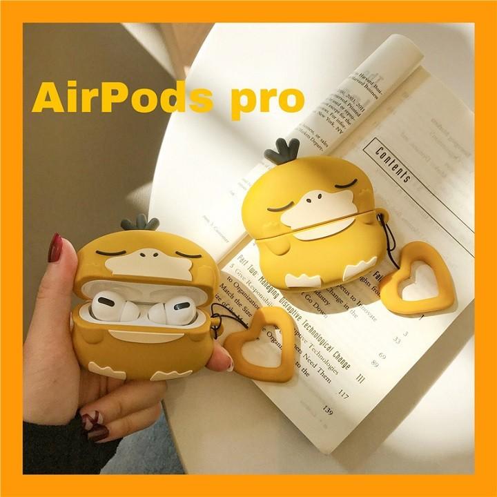 Ốp Airpods 1/2/Pro silicone Pokemon PsyDuck - PK443