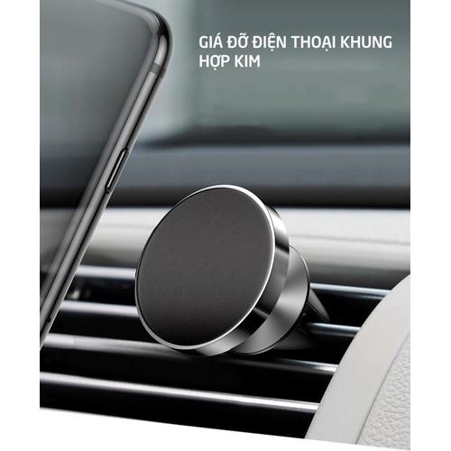 Giá đỡ điện thoại gắn cửa thông gió máy lạnh trên xe hơi, ô tô xoay 360 độ hít nam châm viền kim loại_tg01 - 19570583 , 23974421 , 15_23974421 , 49000 , Gia-do-dien-thoai-gan-cua-thong-gio-may-lanh-tren-xe-hoi-o-to-xoay-360-do-hit-nam-cham-vien-kim-loai_tg01-15_23974421 , sendo.vn , Giá đỡ điện thoại gắn cửa thông gió máy lạnh trên xe hơi, ô tô xoay 360 độ