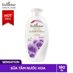 Sữa Tắm Nước Hoa Dưỡng Da Enchanteur Sensation Gợi Cảm Tinh Tế Mịn Màng Quyến Rũ 180gr - sua-tam-Enchanteur-Sensation-180g