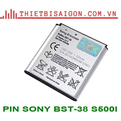 Pin sony bst-38 s500i