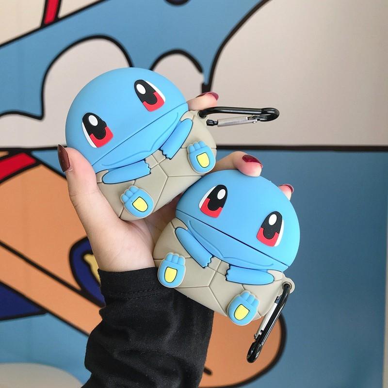 Ốp Airpods 1/2/Pro silicone Pokemon Squirtle- PK446