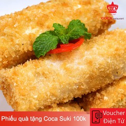 Evoucher Coca Suki - Phiếu quà tặng Coca Suki 100k
