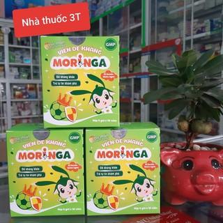 Viên đề kháng Moringa - Tăng sức đề kháng, giảm nguy cơ cảm cúm, viêm đường hô hấp trên. Vị Socola thơm ngon. - Viên đề kháng Moringa thumbnail