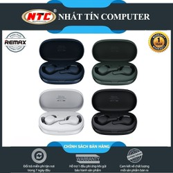 Tai nghe Bluetooth True Wireless Remax TWS-6 V5.0 kết nối từng tai riêng lẻ, pin dùng đến 3H, âm thanh cực hay - Hãng phân phối chính thức