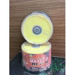 Đĩa Trắng DVD Maxeco 4.7GB Cọc 50 Cái - Đĩa Trắng Ghi Phần Mềm