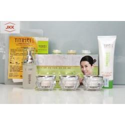 Bộ mỹ phẩm sạch nám, trắng da Yiyimei 5in1, Kem sạch nám Yiyimei, mỹ phẩm yiyimei - bao gồm mặt nạ và bộ thử