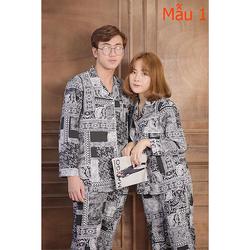 Bộ Đồ Ngủ Dài Tay Chất Lụa, Bộ pijama lụa dài tay phù hợp cả nam và nữ