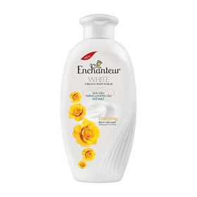 Sữa tắm trắng và dưỡng ẩm có hạt Enchanteur Charming 650g - 2901863005