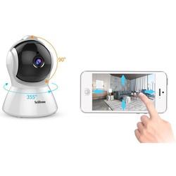 Camera IP WIFI không dây Srihome SH025 2.0MPX 1080p- Hình ảnh Full HD siêu nét, Wifi siêu khỏe [ĐƯỢC KIỂM HÀNG]