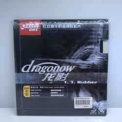 Mặt vợt gai công Dhs Dragonow Có lót tăng tốc độ BB Hữu Nghị