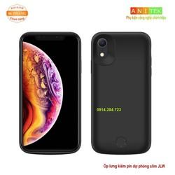 Ốp lưng kiêm sạc dự phòng 6000mAh JLW Slim IPhone XR_XR2m