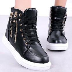 Giày sneaker nữ tăng chiều cao 6cm,thiết kế đơn giản dể phối đồ và êm chân-700