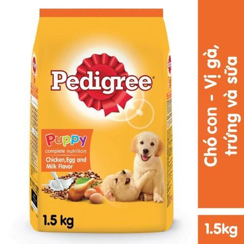 Thức ăn chó con pedigree vị gà trứng túi 1.5kg - 20968083 , 24062509 , 15_24062509 , 120000 , Thuc-an-cho-con-pedigree-vi-ga-trung-tui-1.5kg-15_24062509 , sendo.vn , Thức ăn chó con pedigree vị gà trứng túi 1.5kg