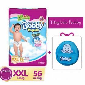 (TẶNG BALO BOBBY ) TÃ QUẦN - TÃ DÁN BOBBY M76-L68-XL62-XXL56 - bobby 5321