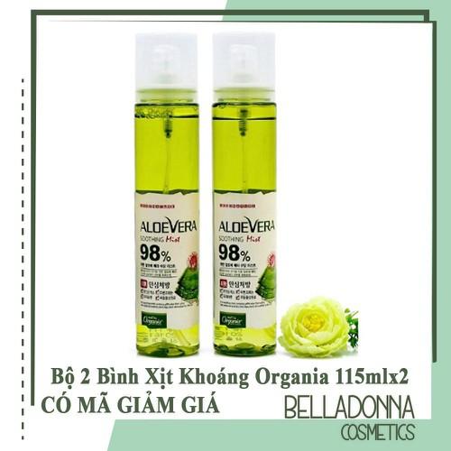 Bộ 2 bình xịt khoáng dưỡng ẩm từ nha đam white organia good nature aloe vera soothing gel mist 115ml x 2 - 20956450 , 24046869 , 15_24046869 , 158000 , Bo-2-binh-xit-khoang-duong-am-tu-nha-dam-white-organia-good-nature-aloe-vera-soothing-gel-mist-115ml-x-2-15_24046869 , sendo.vn , Bộ 2 bình xịt khoáng dưỡng ẩm từ nha đam white organia good nature aloe