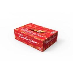 [HCM] Budweiser lon 330ml - Thùng 24 lon phiên bản Tết