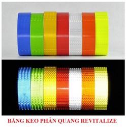 Băng keo phản quang 3D Revitalize - loại trơn - Phản quang loại tốt