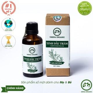 TINH DẦU TRÀM HỮU CƠ U MINH HẠ CHO BÉ Tinh dầu tràm hữu cơ nguyên chất Tinh dầu hữu cơ Umi Home chính hãng - tinhdautram50 thumbnail