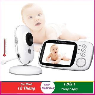 Máy báo khóc trẻ em VB603 2.4Ghz màn hình 3.2inch, Trò chuyện 2 chiều, Hồng ngoại quay ban đêm - Camera giám sát VB603 thumbnail