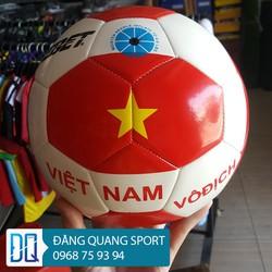 Qủa bóng đá trẻ em EBET size 4 - Qủa bóng đá cờ đỏ sao vàng
