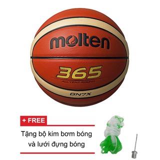 Bóng Rổ Da thi đấu Molten BGN7X - BGN7X Tiêu chuẩn quốc tế FIBA thumbnail