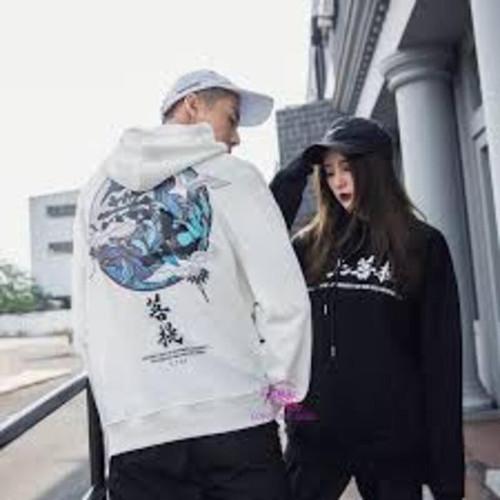 Áo hoodie nỉ form rộng con cò uy tín chất lượng