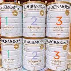 Sữa Black More Úc số 1,2,3