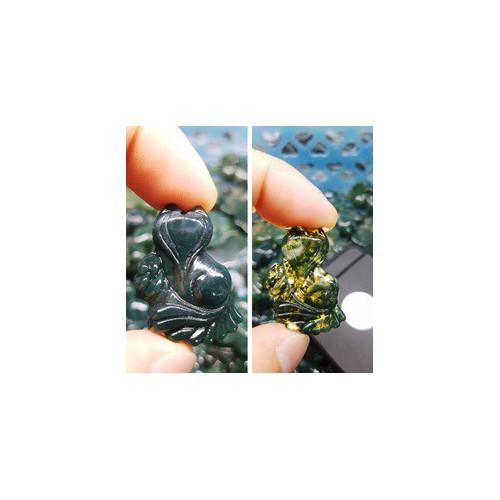 Mặt đá hồ ly 9 đuôi ôm hoa đuôi xòe đá mã não rêu xanh tặng kèm dây đeo - 20984786 , 24086924 , 15_24086924 , 340000 , Mat-da-ho-ly-9-duoi-om-hoa-duoi-xoe-da-ma-nao-reu-xanh-tang-kem-day-deo-15_24086924 , sendo.vn , Mặt đá hồ ly 9 đuôi ôm hoa đuôi xòe đá mã não rêu xanh tặng kèm dây đeo