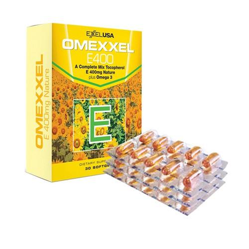 Viên uống bổ sung vitamin e omexxel e400