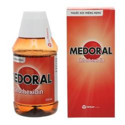Nước súc miệng Medoral 250ml
