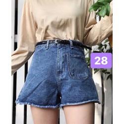 Quần short jeans nữ sành điệu