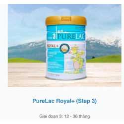 Sữa PURELAC ROYAL+ stage 3 - Sữa Purelac Royal+ stage 3