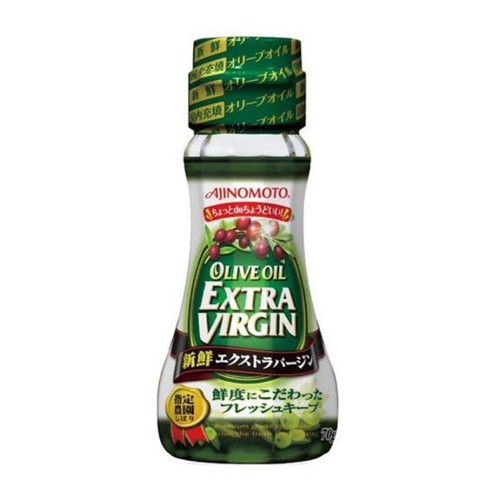 Date 12-2020 dầu olive ajinomoto nhật bản 70g cho bé