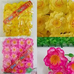Bịch hoa mai đào giả trang trí ngày tết