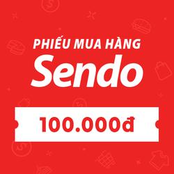 [E-voucher] PHIẾU MUA HÀNG SENDO TRỊ GIÁ 100.000 ĐỒNG
