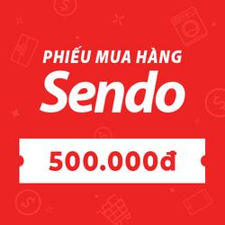 [E-voucher] PHIẾU MUA HÀNG SENDO TRỊ GIÁ 500.000 ĐỒNG