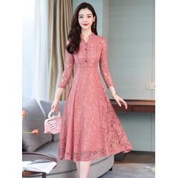 Đầm ren nữ cao cấp D1227
