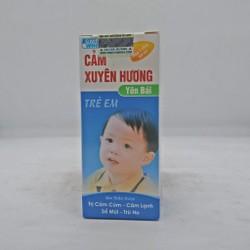 Siro Cảm Xuyên Hương Yên Bái – Dùng cho bé bị cảm lạnh, cảm cúm, sổ mũi, ngạt mũi