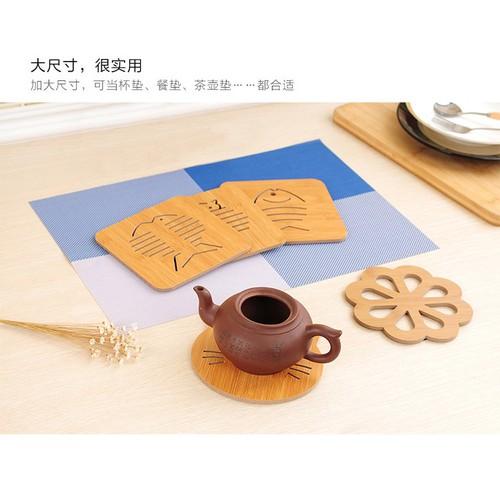 Bộ 5 miếng lót ly tách ấm trà bằng gỗ cách nhiệt có hoa văn - 9cm - 20993009 , 24097559 , 15_24097559 , 25000 , Bo-5-mieng-lot-ly-tach-am-tra-bang-go-cach-nhiet-co-hoa-van-9cm-15_24097559 , sendo.vn , Bộ 5 miếng lót ly tách ấm trà bằng gỗ cách nhiệt có hoa văn - 9cm