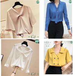 [Event Giá Sốc] Bộ sưu tập áo sơ mi công sở Cỏ Fashion