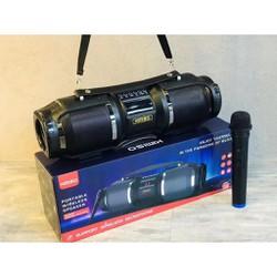 Loa Bluetooth karaoke xách tay di động KIMISO T1S - Kèm 01 Micro