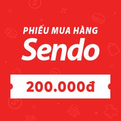 [E-voucher] PHIẾU MUA HÀNG SENDO TRỊ GIÁ 200.000 ĐỒNG
