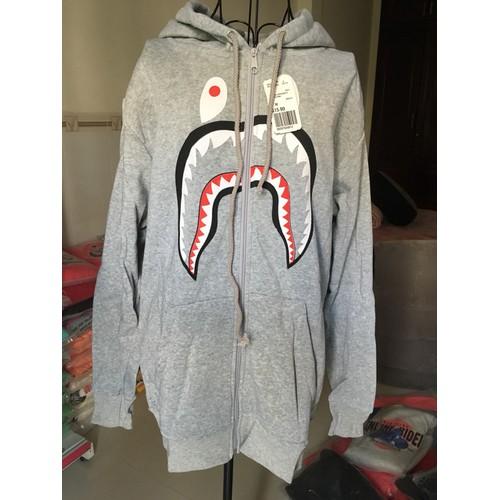 Áo khoác hoodie nam nữ hàm răng
